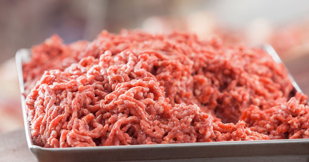 ground red meat