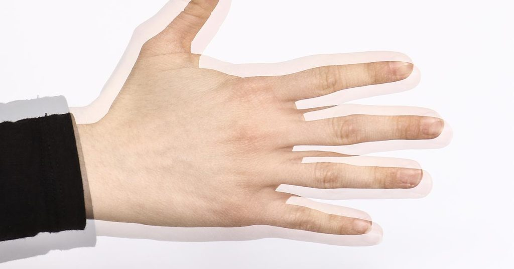 double vision hand