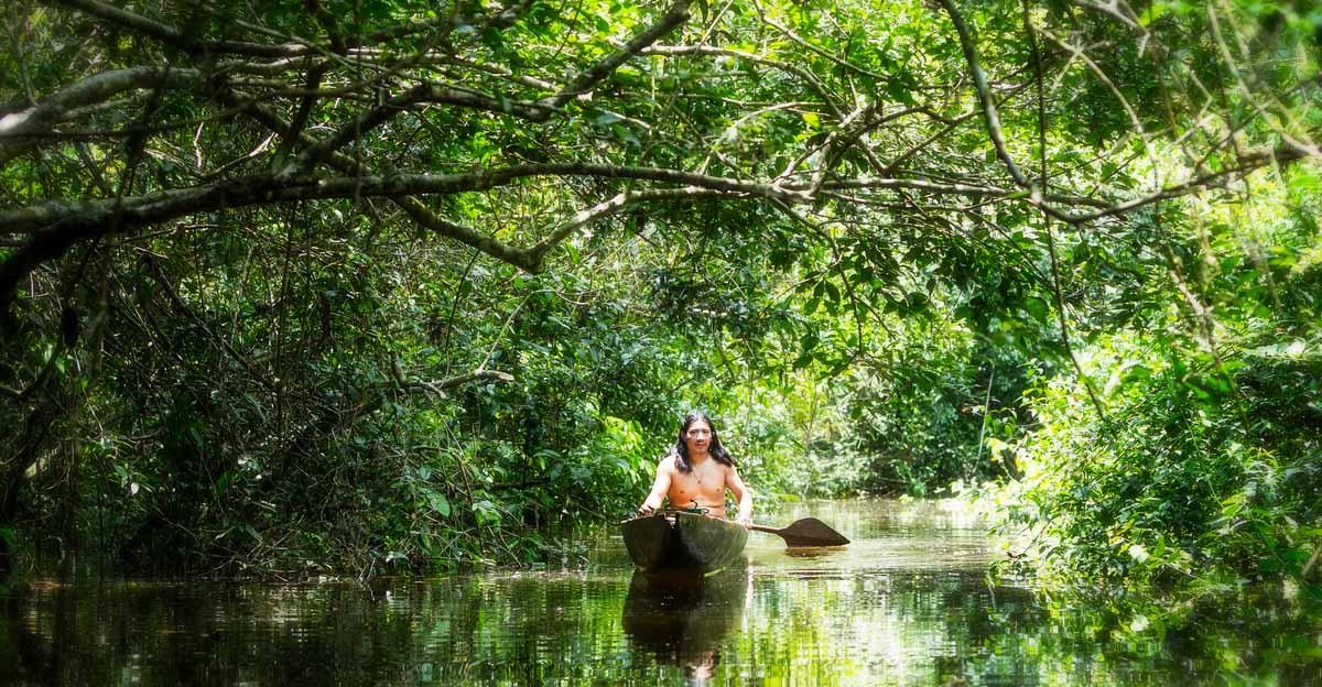 isolated amazonian tribe