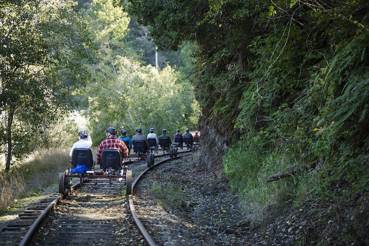 rail bikes in California