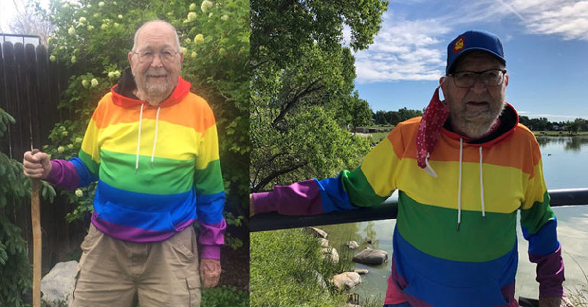 grandfather comes out