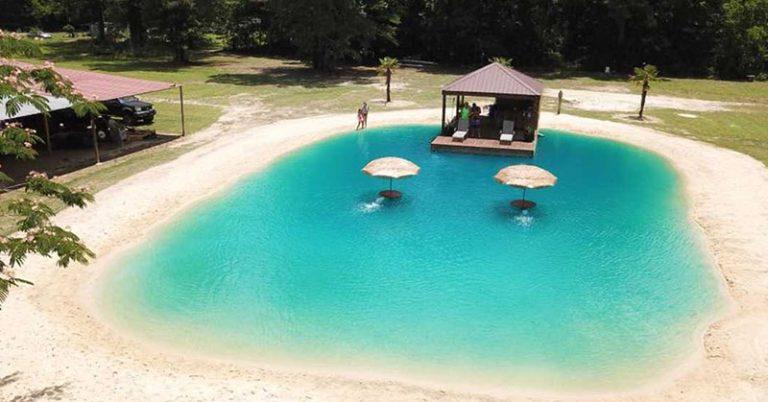 eric white's swimming pool