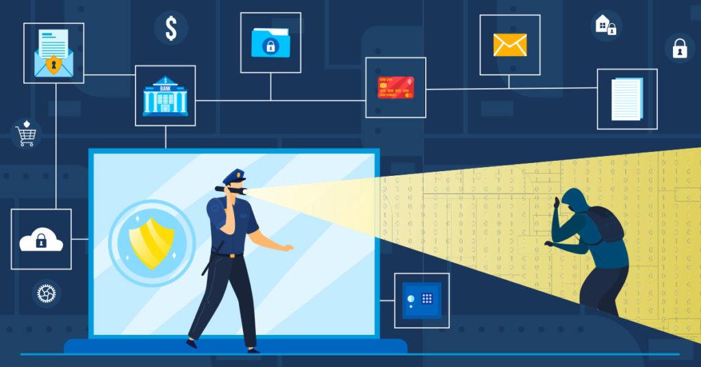 Law enforcement policing the dark web