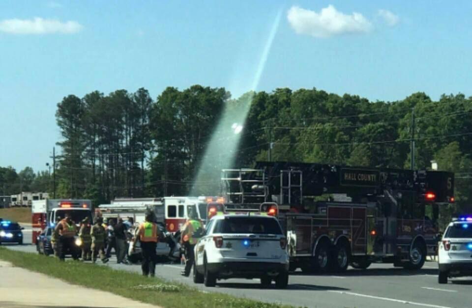 pathway to heaven car crash photo